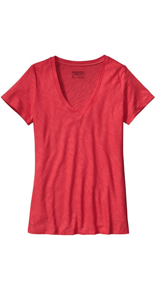 Patagonia W's Necessity V-Neck Shock Pink